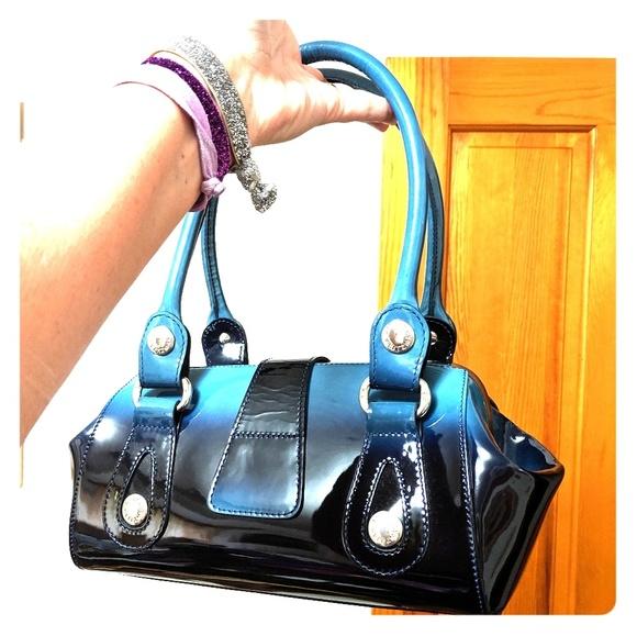 Stuart Weitzman Handbags - Stuart Weitzman handbag blue ombre